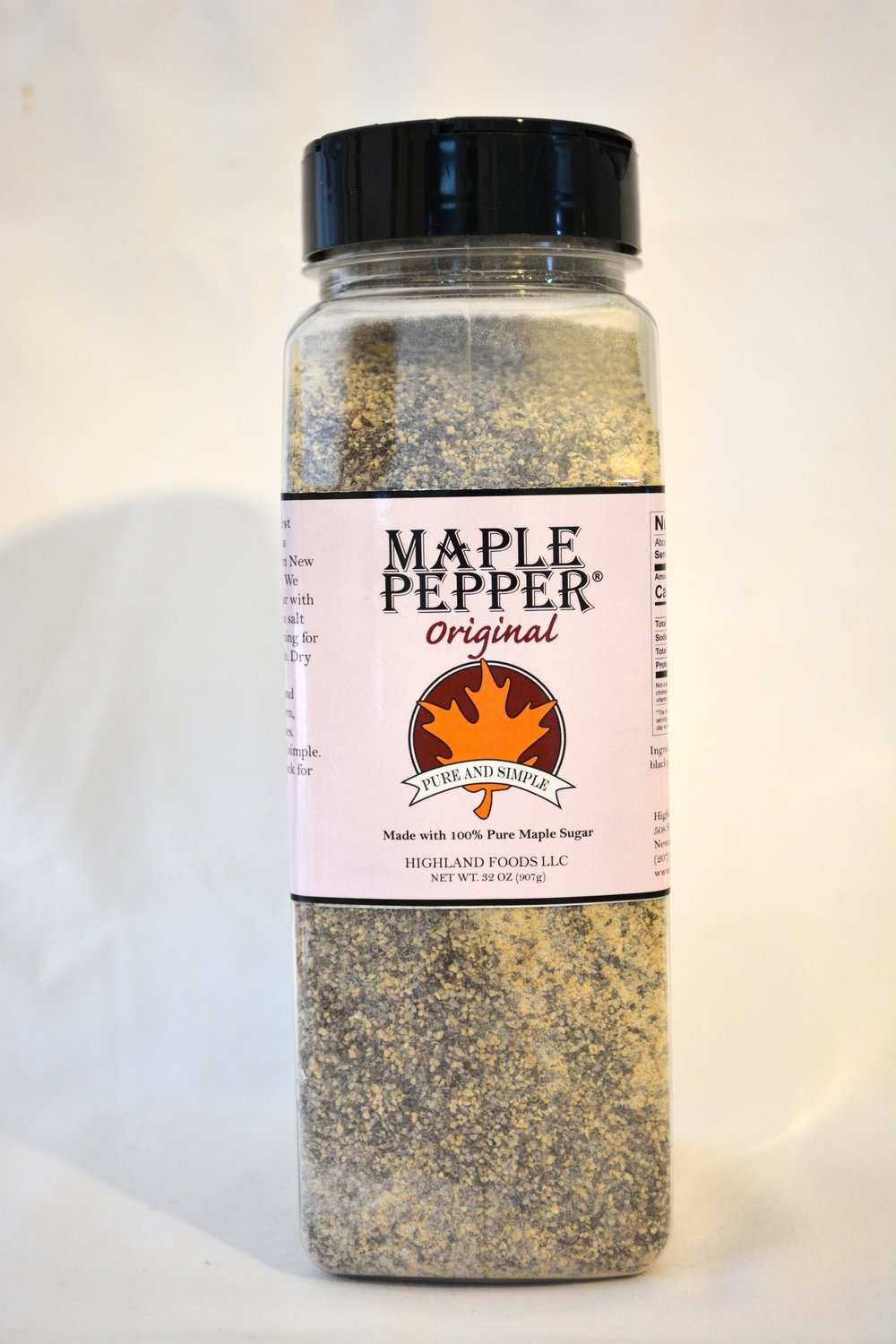 Maple Pepper® Original: 2 lb. pour & shake