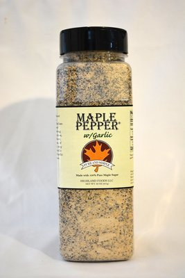 Maple Pepper® w/Garlic: 2 lb. pour & shake