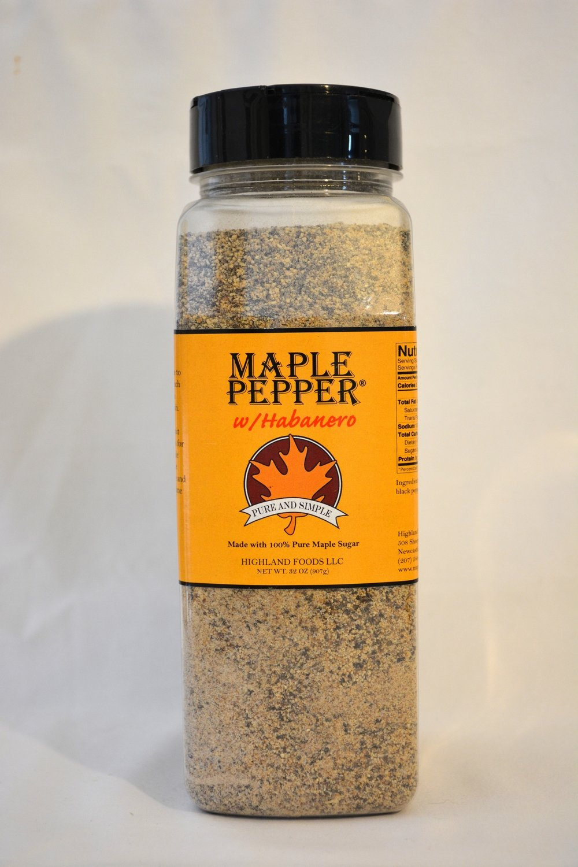 Maple Pepper® w/Habanero: 2 lb. pour & shake
