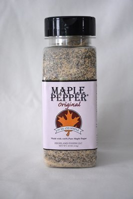 Maple Pepper® Original: 1 lb. pour & shake