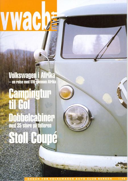 Medlemsblad - 1998 - 01