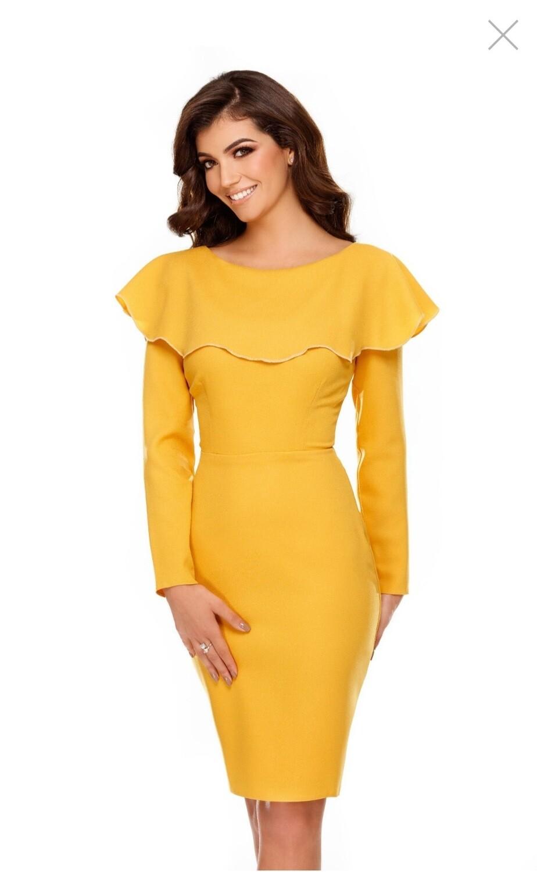Lana Frill Dress