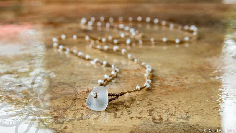 ADINA Pearl Necklace & Wrap Lariat