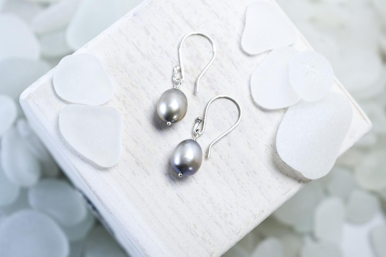 Classic Pearl Drop Earrings