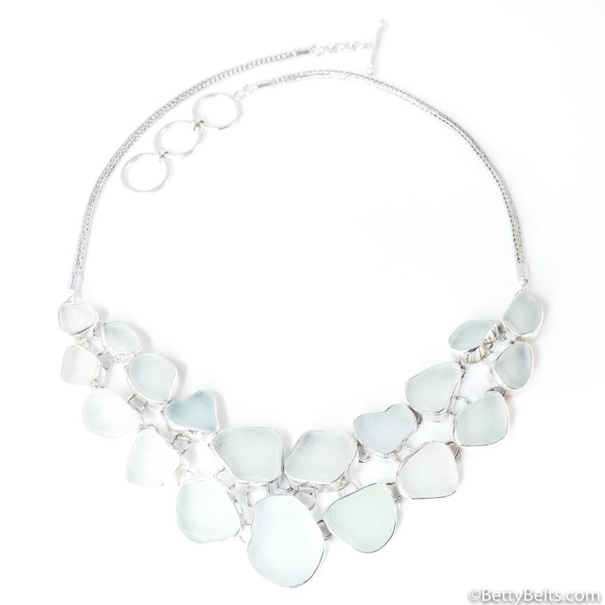 Sea Glass Necklaces (RED CARPET DESIGNS)