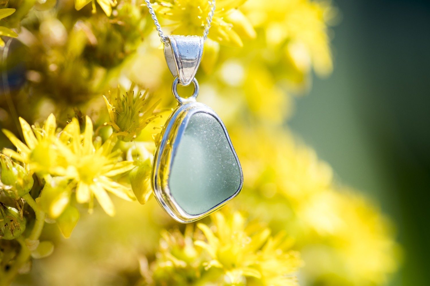 Sea Glass Necklace (MINI)