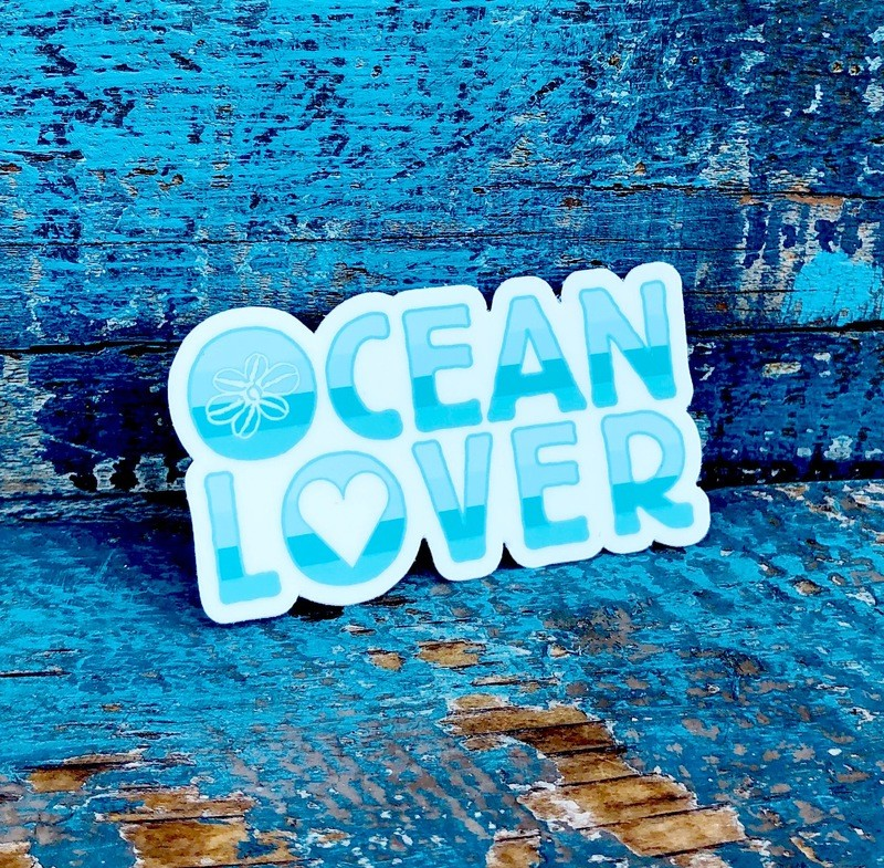 Ocean Lover Sticker