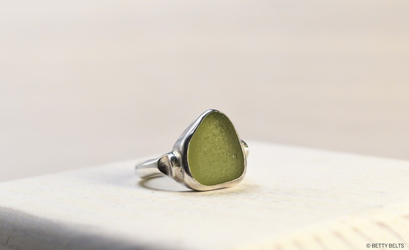 Sea Glass Ring (LUCKY)