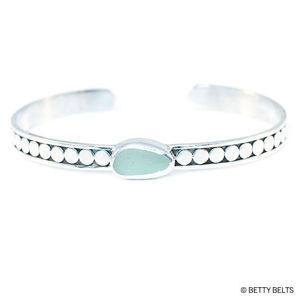 BROOKE Sea Glass Cuff
