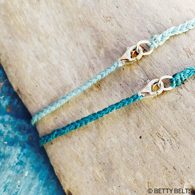 Braided Cord + Sterling Clasp