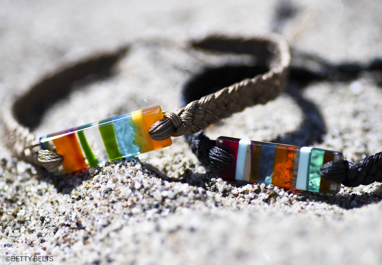 KALANI Upcycled Surfite Unisex Bracelet