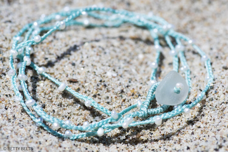 ADINA Pearl Necklace & Wrap Bracelet