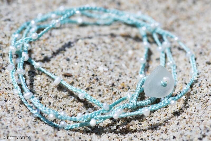 Pearl Necklace & Wrap Bracelet (ADINA)