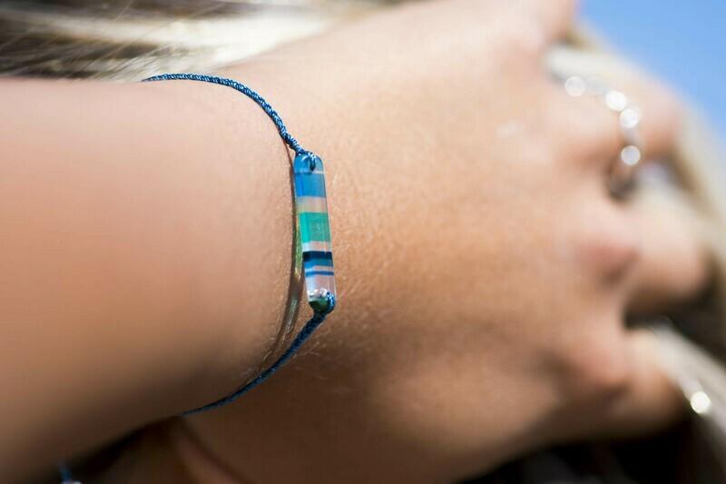 AMANDA Upcycled Surfite Friendship Bracelet