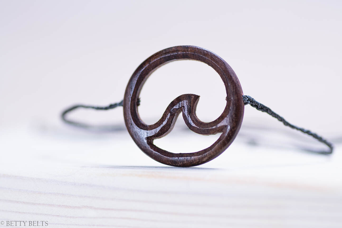 Wood Wave Friendship Bracelet