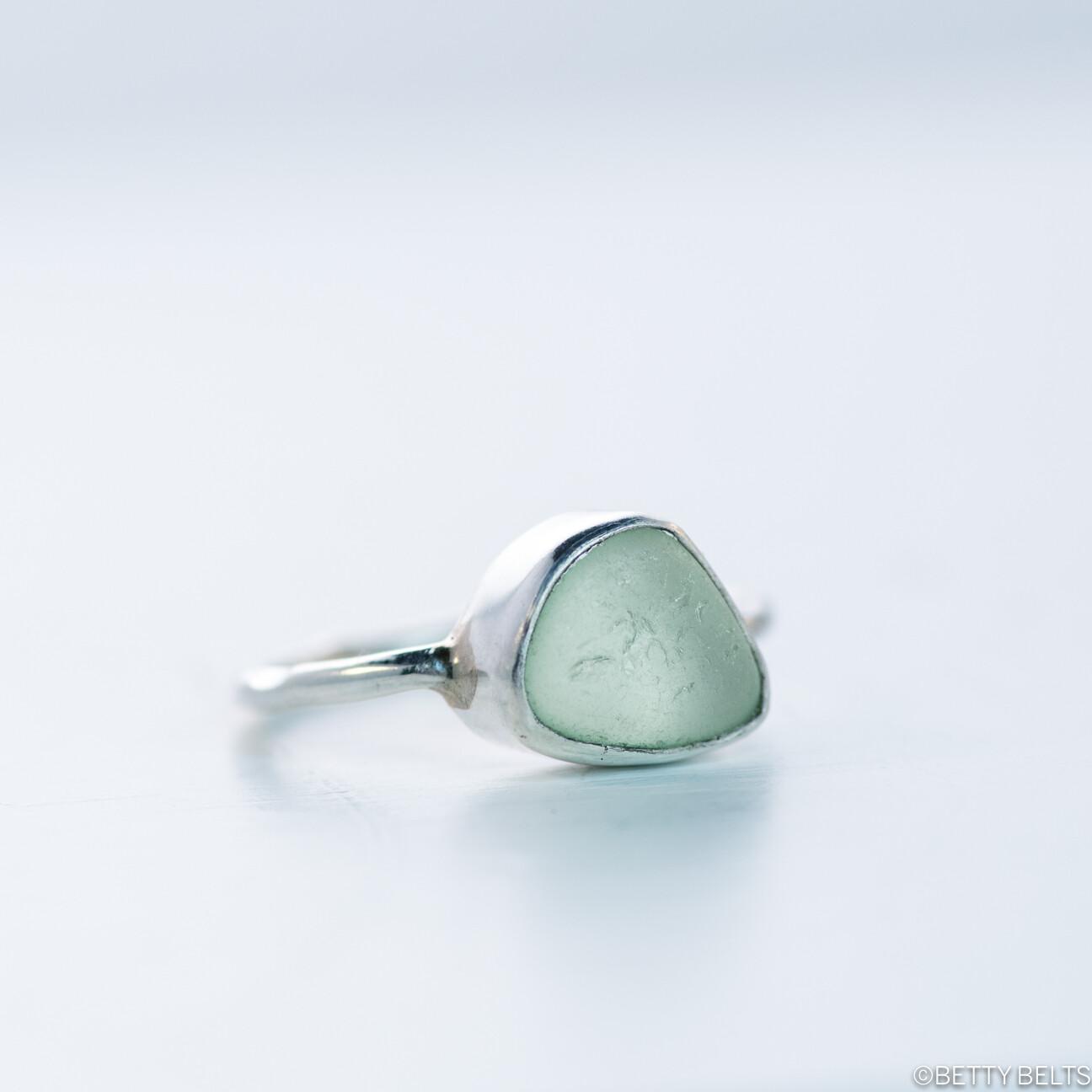 Betty Micro Sea Glass Ring