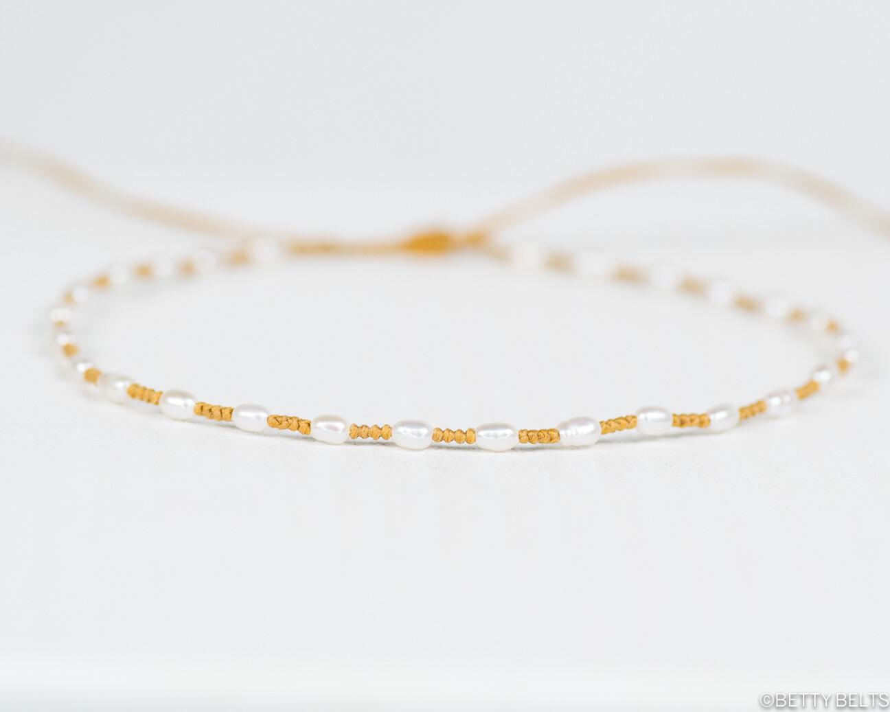 JACKIE Jewel + Golden Braid Bracelet