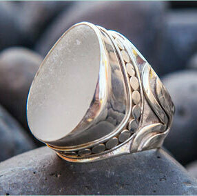 Sea Glass Ring (ROCKSTAR)