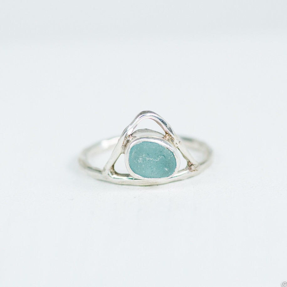 Sea Glass Ring (PEAK)
