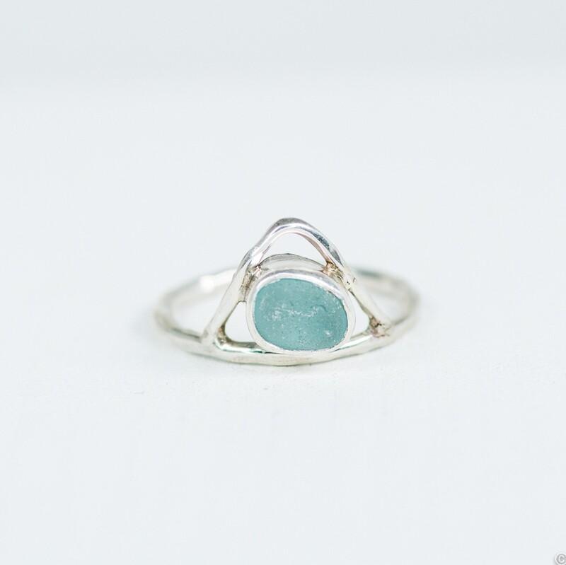 Sea Glass Ring (PEAK)
