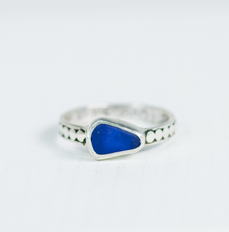 BROOKE Sea Glass Ring