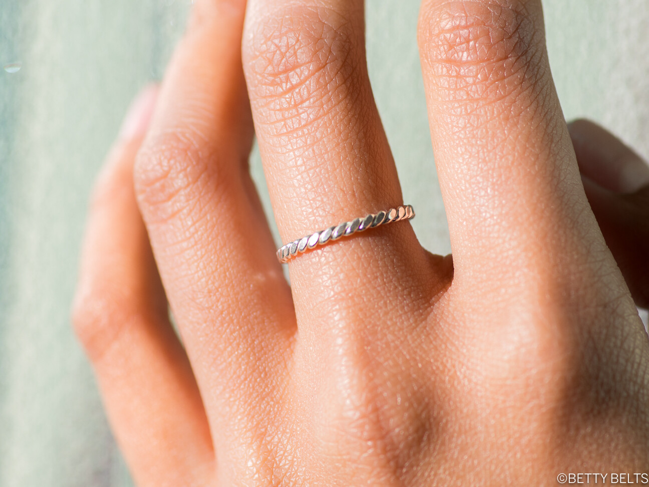 Twist Stacker Ring