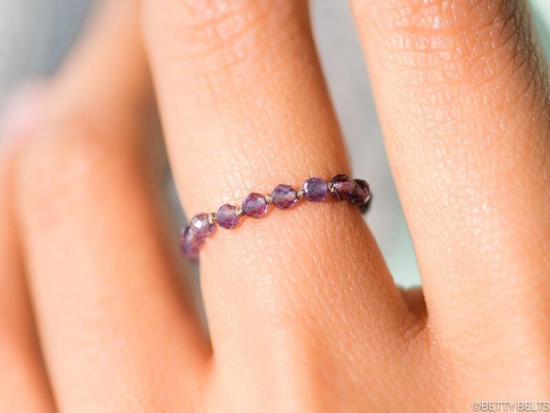 LAUREN Gemstone Stacking Ring