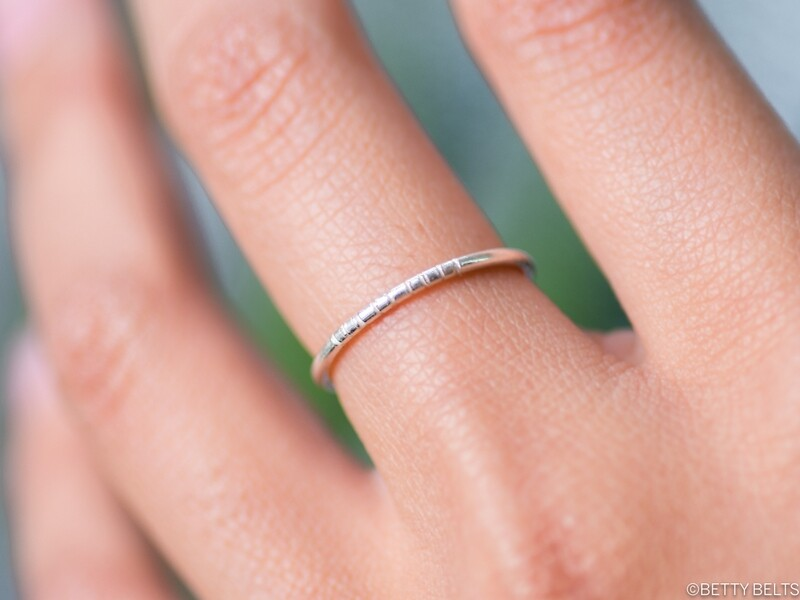 Lines Stacking Ring