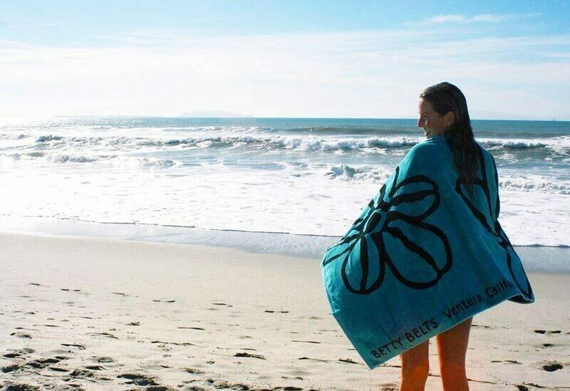 Beach Betty Towel