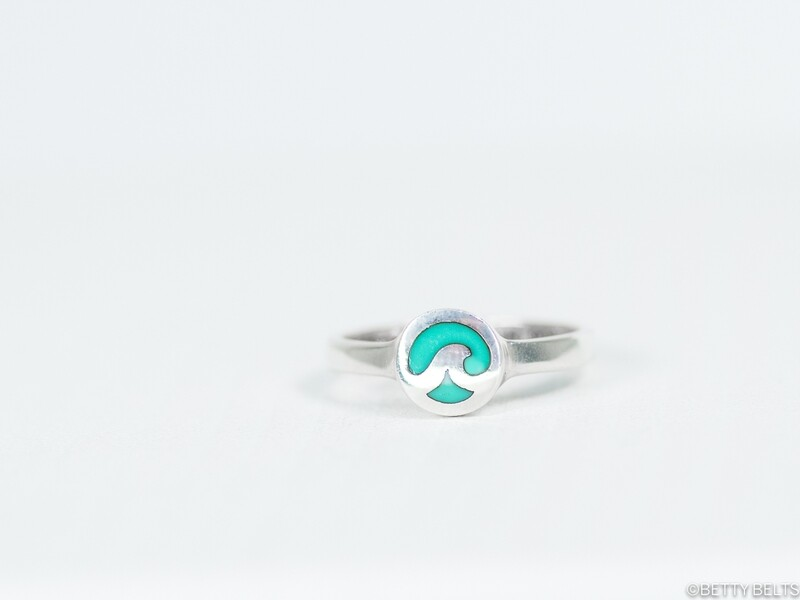 Blue Wave Ring