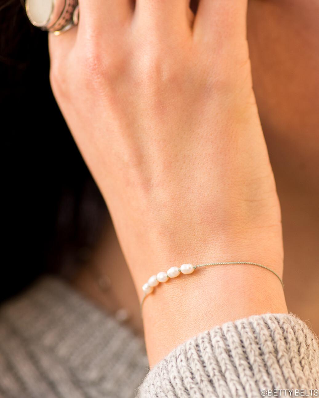 Pearl Friendship Bracelet (BRIANA)