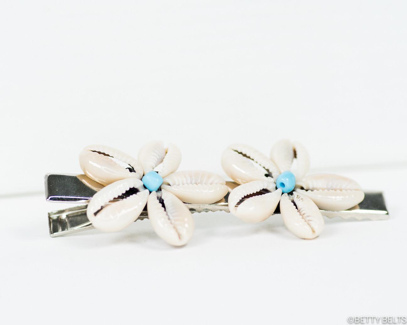 Betty Double Shellflower Clip