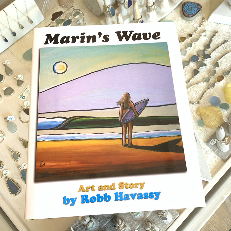 Marin's Wave Book by Robb Havassy
