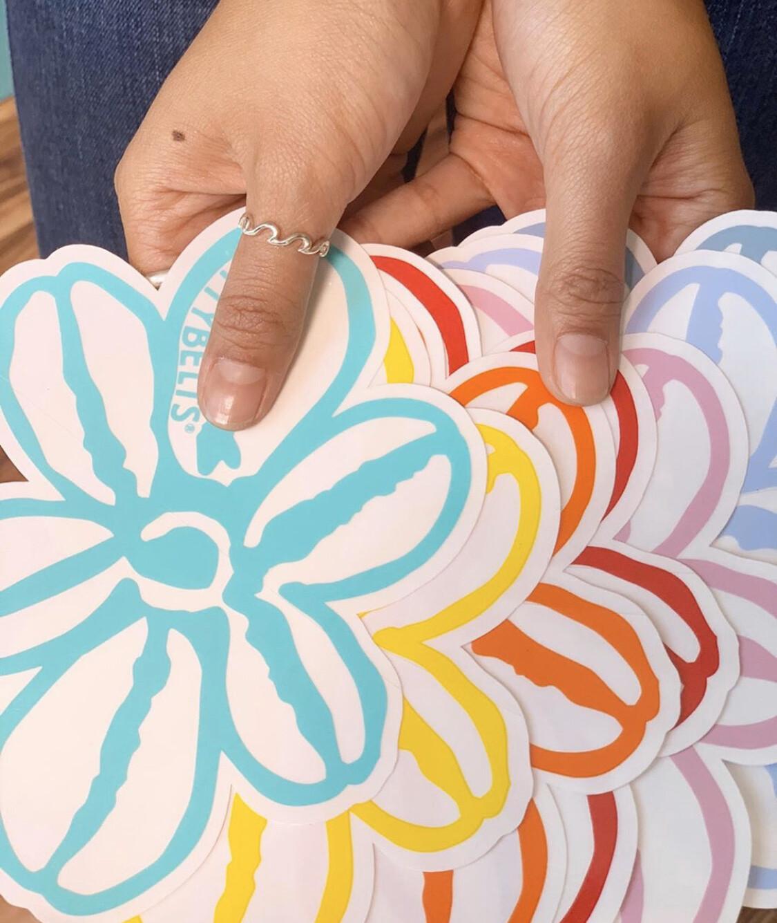 XL BB Flower Sticker