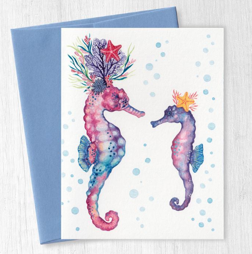 Greeting Cards by Christine May Brand