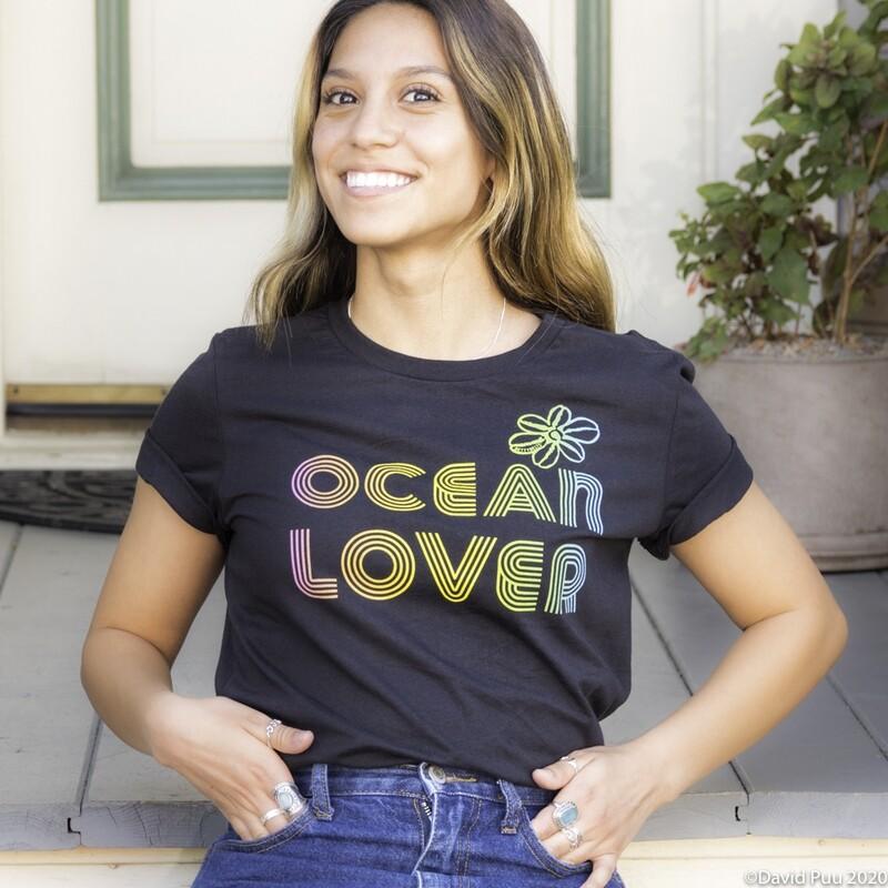 OCEAN LOVER Ombré Betty Tee
