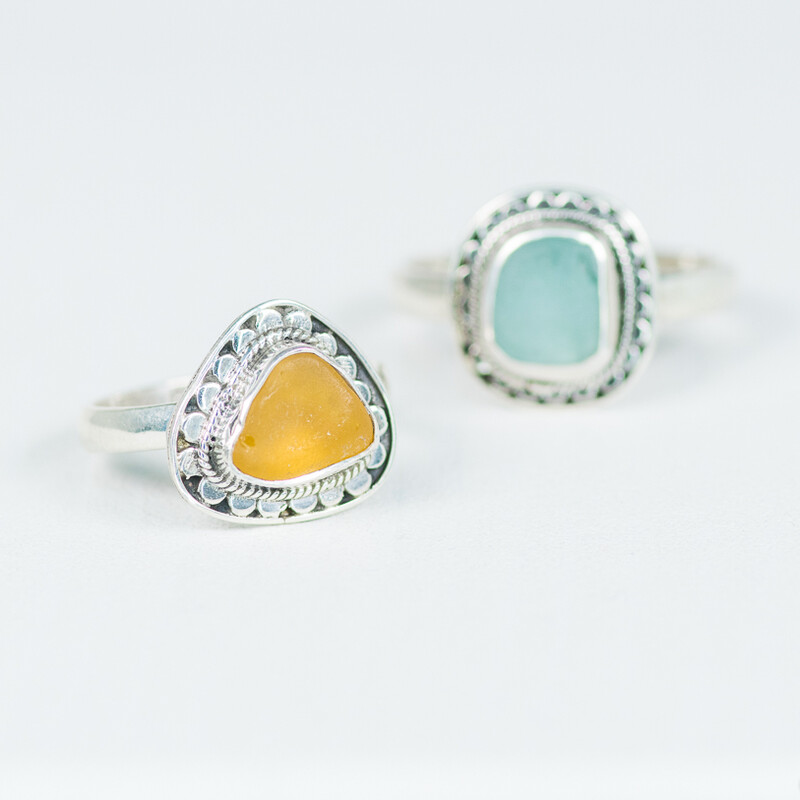 Sea Glass Ring (CAYDEN MINI)
