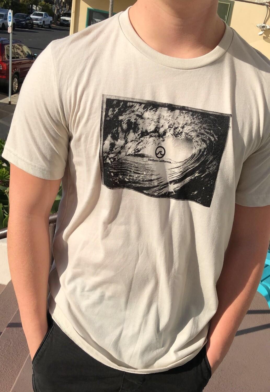 Ocean Lovers® Wave Tee + Circle Wave Sticker