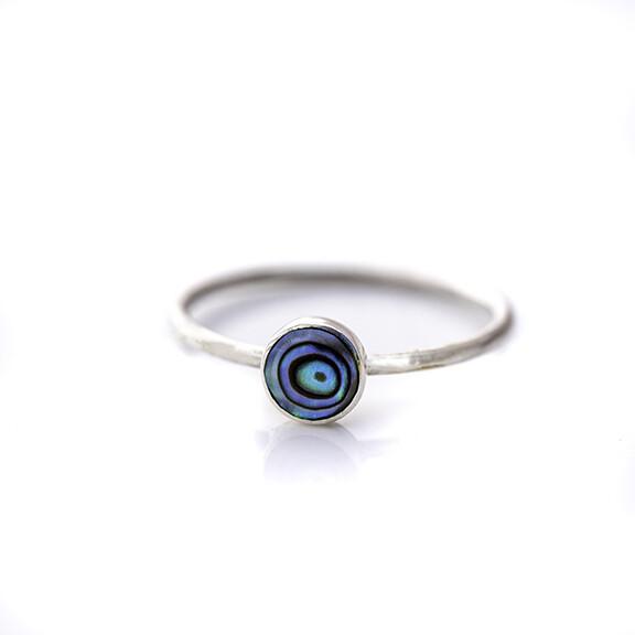 LEYLA Shell Ring (Abalone & MOP)