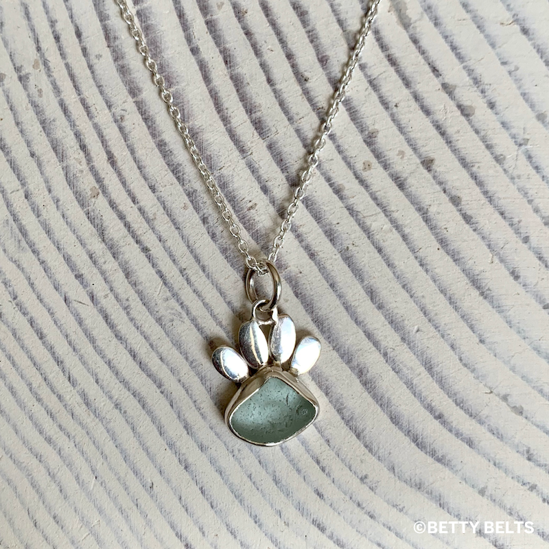 Haole Paw Charm Necklace
