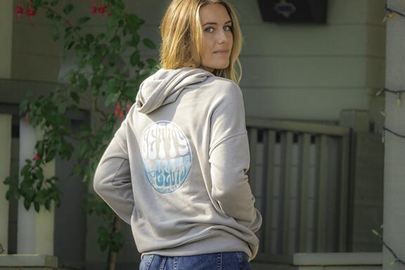 Betty Fisheye Logo Pullover Hoodie