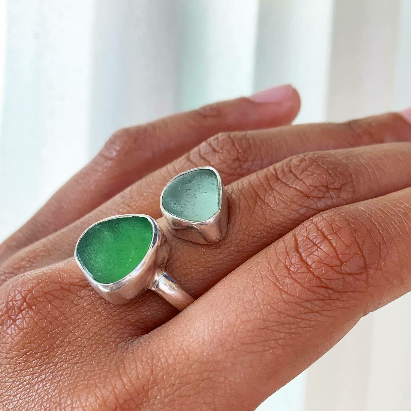 Better Together Sea Glass Ring