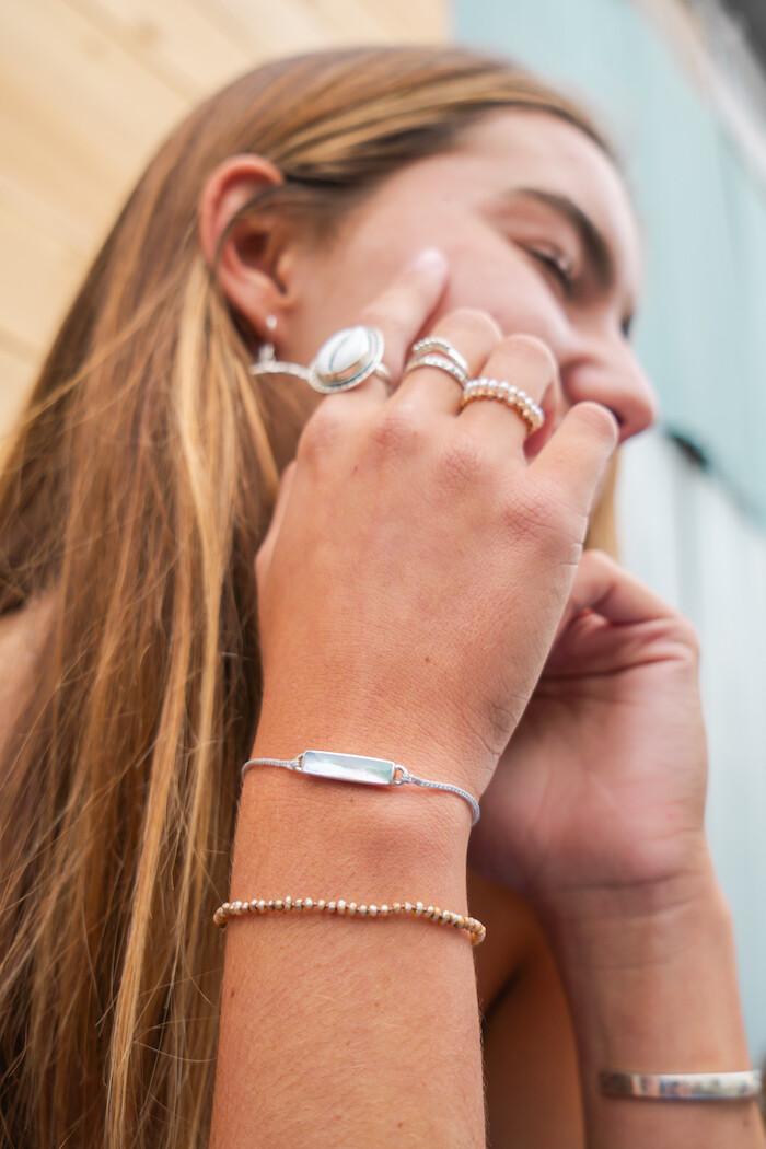 LAUREN Pearl Stacking Bracelet