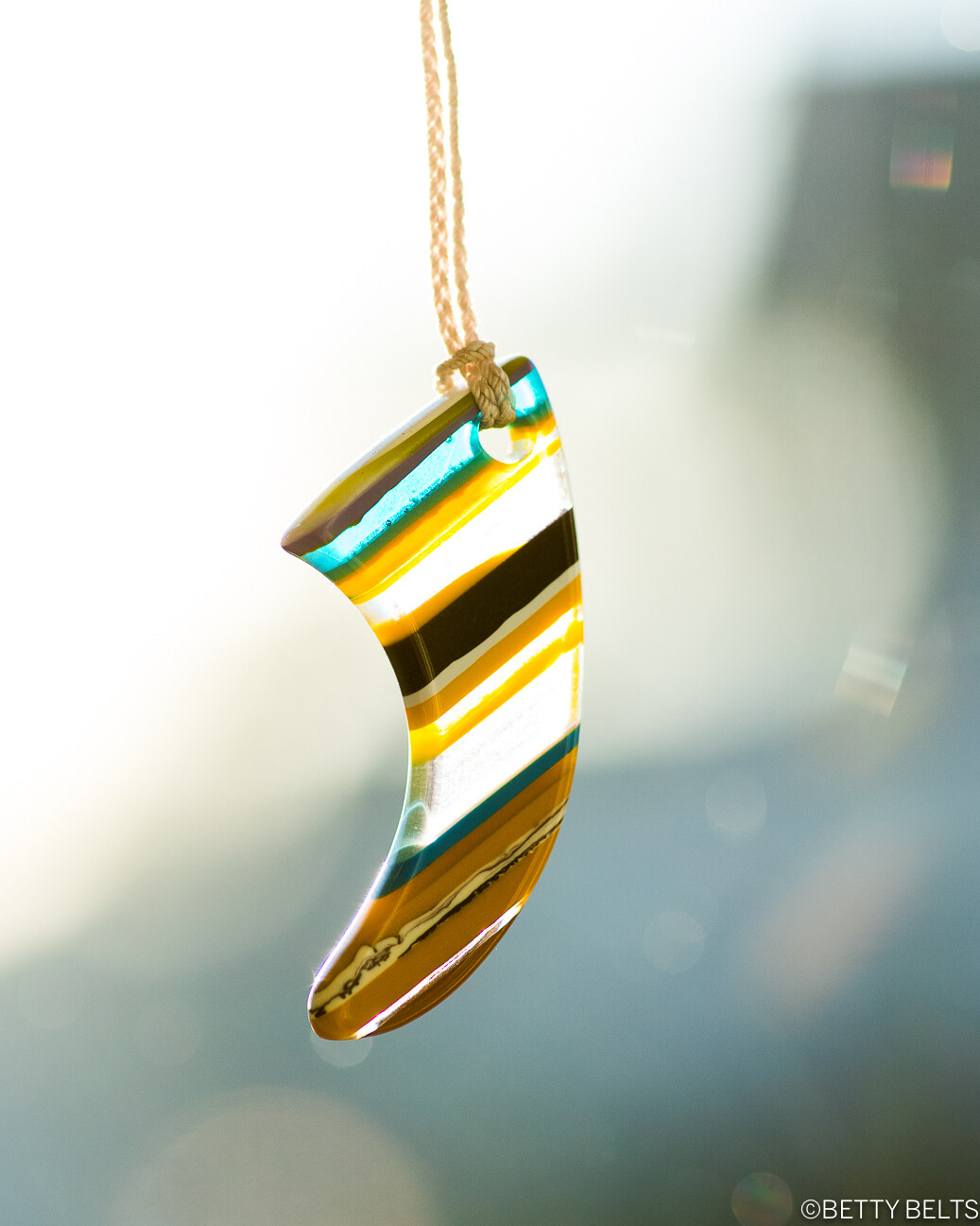 Upcycled Surfite Necklace (ALL SHAPES)