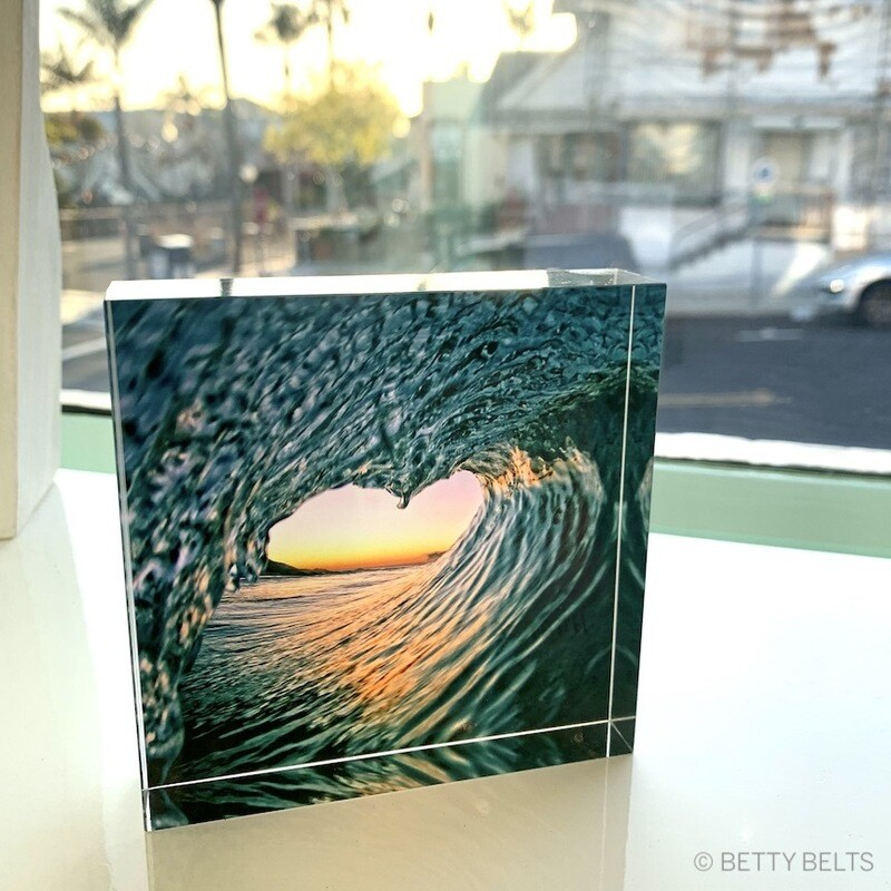 Acrylic Block Photographic Print by David Pu'u