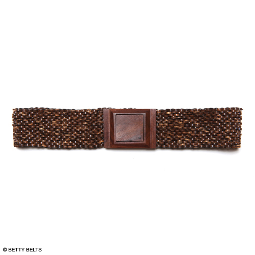 ASHLEY Wood Stretch Belt