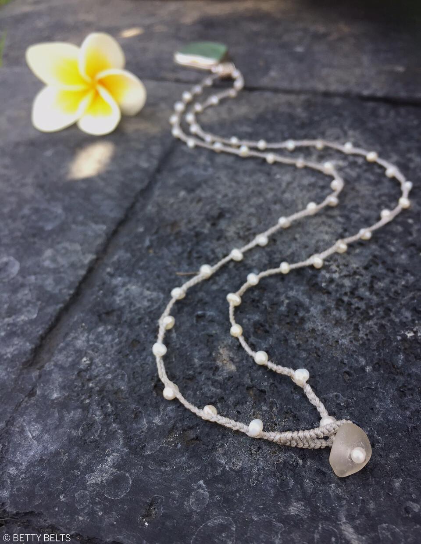 ADINA Pearl Necklace & Wrap Lariat