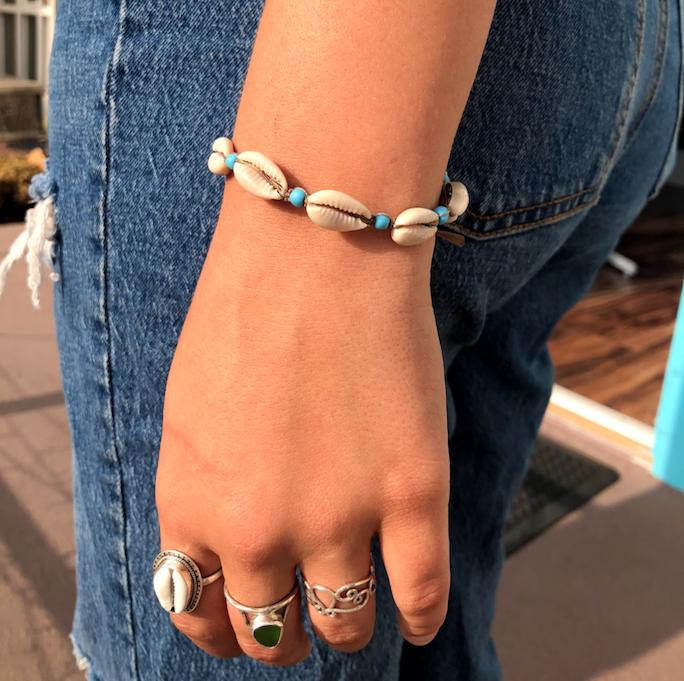 JOSS Cowry Shell Bracelet