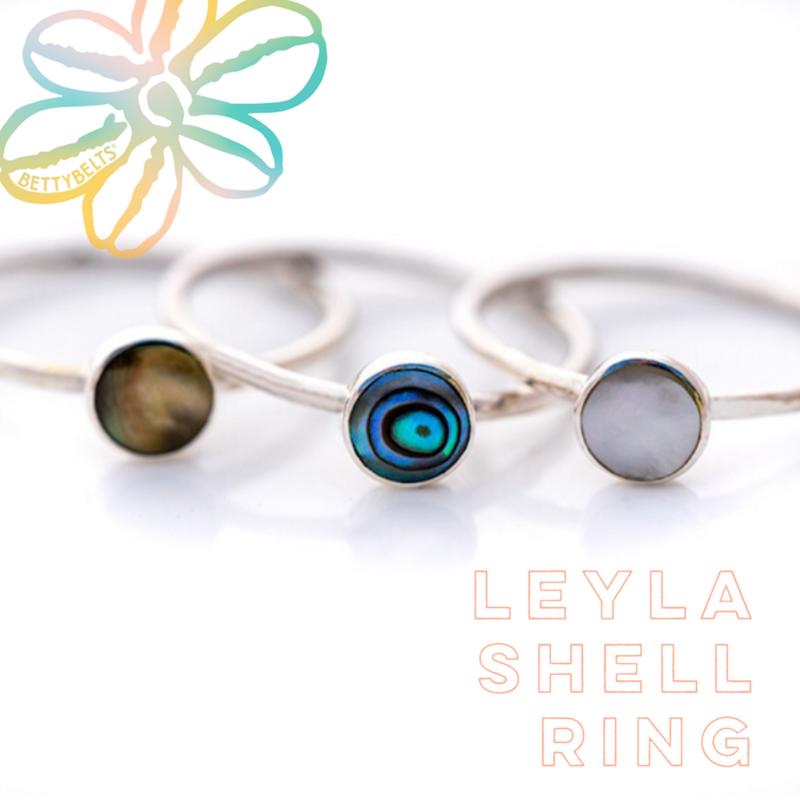 LEYLA Shell Ring