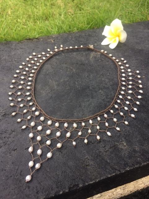 Nefertiti Freshwater Pearl Necklace
